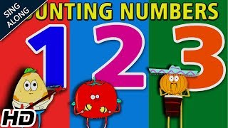 Learn to Count (HD) | Counting Numbers Sing Along Song For Children | Shemaroo Kids