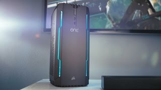 CORSAIR ONE - THE FIRST EVER GAMING PC FROM CORSAIR