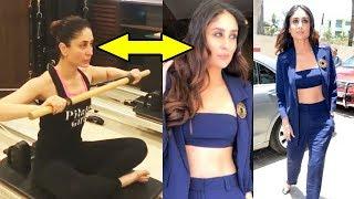 Kareena Kapoor HOT Workout For Veere De Wedding