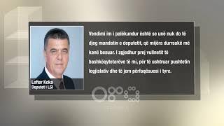 Ora News – Lefter Koka kundër LSI: Nuk djeg mandatin, ky vendim është i Saliut