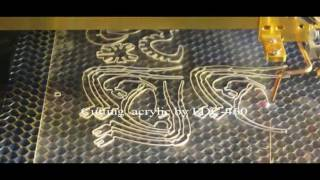 FDC-460 Laser Engraving/Cutting Demo Video from Founder Laser