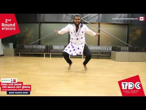 #TDC015 Thivakar Arunthavarajah | Round Two | TamilDanceChampionship