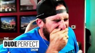 """Dude Perfect's Coby Cotton's """"Code Brown"""" Situation 