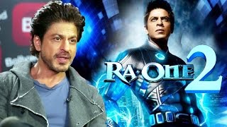 Shahrukh Khan SCARED Of Doing RA ONE 2