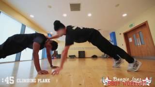 Boogie Lans    Bboy workout   Beginners  