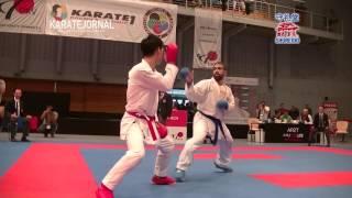 KEN NISHIMURA(JPN) 5-0 R.aghyev(AZE) karate1premier league Hamburg2016