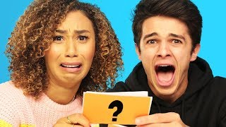 WOULD YOU RATHER ft. MyLifeasEva and Brent Rivera | Brent Vs Eva