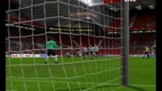 PES 2009 PS2 Footage 25-6-09