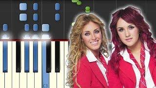 Salvame / RBD / Piano Tutorial / Notas Musicales