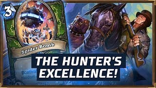 The Hunter's Excellence! | Deathrattle Hunter | The Boomsday Project | Hearthstone
