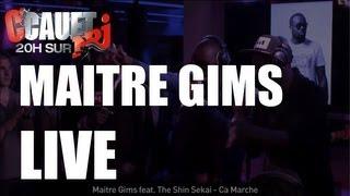 Maitre Gims feat. The Shin Sekai - Ça Marche - C'Cauet sur NRJ