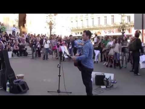 Imagine by John Lennon performed by Youri Menna Paris 10 18 2014