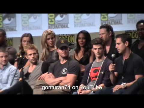 SDCC 2014 DC WB Panel Arrow The Flash Gotham and Constantine Full Panel