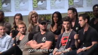 SDCC 2014 DC WB Panel Arrow, The Flash, Gotham, and Constantine Full Panel