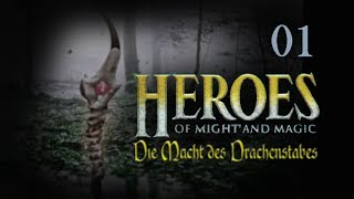 Let´s Play Heroes of Might and Magic - Die Macht des Drachenstabes - German - Part 01