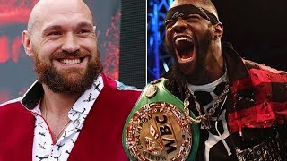 TYSON FURY CONFIRMS REMATCH CLAUSE WITH DEONTAY WILDER!!