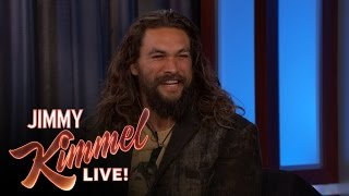 Jason Momoa is Terrible at Keeping Secrets