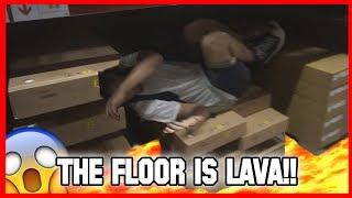 😱 THE FLOOR IS LAVA ITA ALL'IKEA | IL PAVIMENTO E' LAVA [CHALLENGE]  | THEPEPIYOS