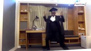 WATCH: Infamous Ntokozo Qwabe busts moves at Oxford