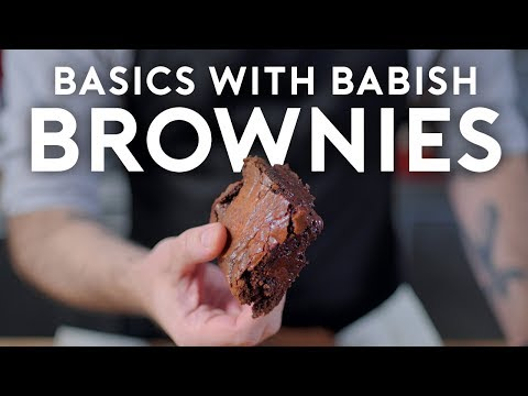 Brownies Basics with Babish