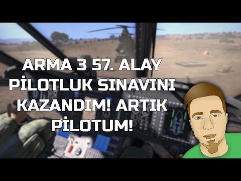 ARMA 3 57. ALAY PİLOTLUK SINAVINI KAZANDIM! ARTIK PİLOTUM!