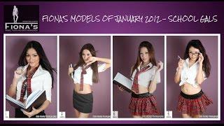 Fiona's Models Of January 2012 - SCHOOL GALS