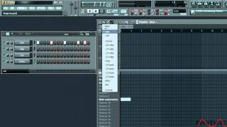 Fl Studio 9 Beginner Tutorial How To Make A Song (Part 1/3).mov