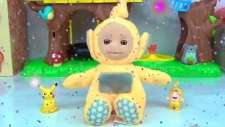 TELETUBBIES Learn Colors Play-doh: La la, Po, Tinky Winky, Dipsy / TUYC