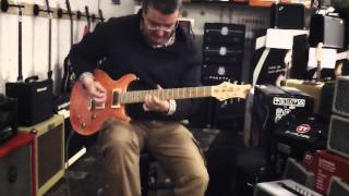 Test de la guitare John Guilford crown Rose