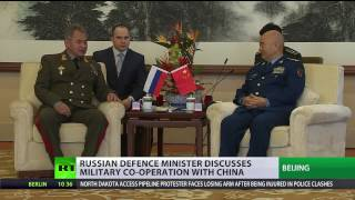 Russia-China military ties 'at all-time high' – MoD