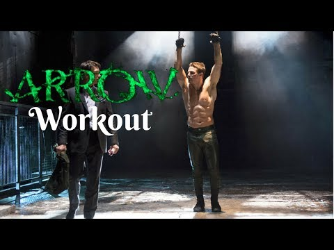 STEPHEN AMELL WORKOUT ROUTINE American Ninja Warrior and Arrow