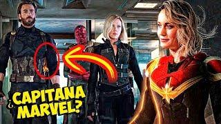 Capitana Marvel sale en Los Vengadores Trailer!!?? -SuperBowl Analisis