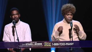 Paul Simon, Chris Rock, Tracy Morgan - Scarborough Fair and Gin and Juice - Night of Too Many Stars