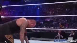 WWE REAL BLOOD  HD Wrestlemania 29   Undertaker Vs CM Punk HD