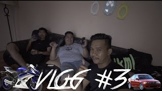 DAILY VLOG #3 BTS ( behind the scene ) R6 feat BMW E46