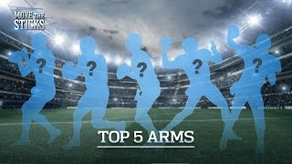 Top 5 QB Arms in the NFL   Move the Sticks   NFL