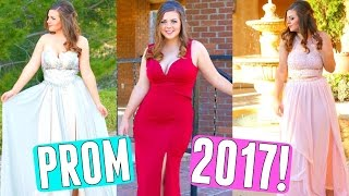 PROM 2017 LOOKBOOK + PROM DRESS SHOPPING TIPS FOR CURVY GIRLS! PROM DRESSES FOR A CURVY BODY TYPE!