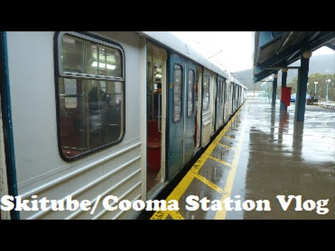 SkiTube Railway/Cooma Station Vlog