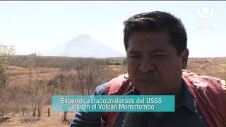Expertos estadounidenses del USGS  visitan el Volcán Momotombo