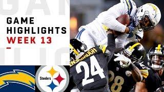 Chargers vs. Steelers Week 13 Highlights   NFL 2018