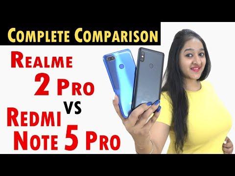 Realme 2 Pro vs Redmi Note 5 Pro COMPLETE COMPARISON