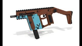 Custom Lego Gun MOC: Kriss Vector [Master Edition]