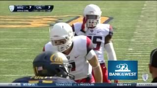 Cal Football: Arizona Highlights (Bank of the West)