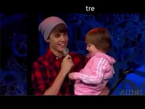 Justin e Jazmyn, cantano insieme Baby!♥