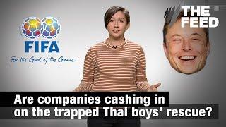 Thai Cave Rescue: Companies cashing in?