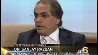 Sex after robotic prostate cancer surgery