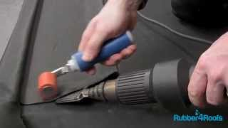 How to Install an EPDM Gutter Lining System to a Roof Edge from Rubber4Roofs