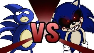 SANIC vs SONIC.EXE Cartoon Fight Club Episode 9
