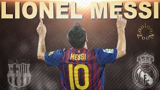 Lionel Messi Vs Real Madrid ● True Story ● All Goals ᴴᴰ