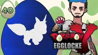 Pokémon Y Egglocke Part 40 | STEEVEE GETS AN UPGRADE, MAYBE
